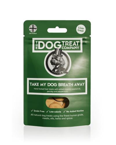 take my dog breath away